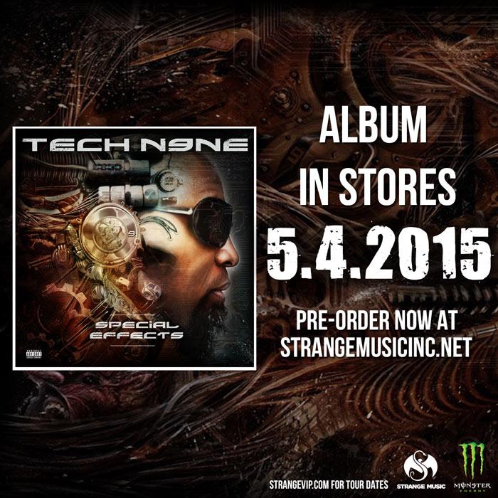 Tech N9ne's Special Effects CD In Store 5/4/2015